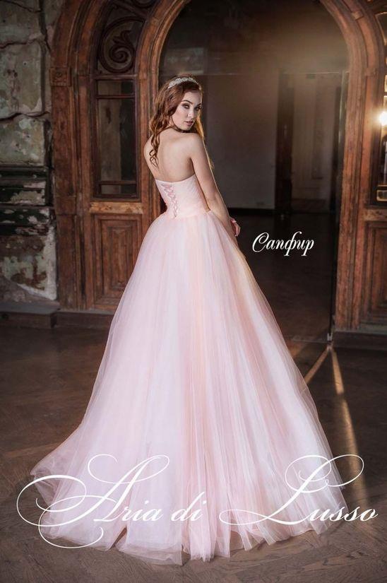 Модное пышное свадебное платье 2018