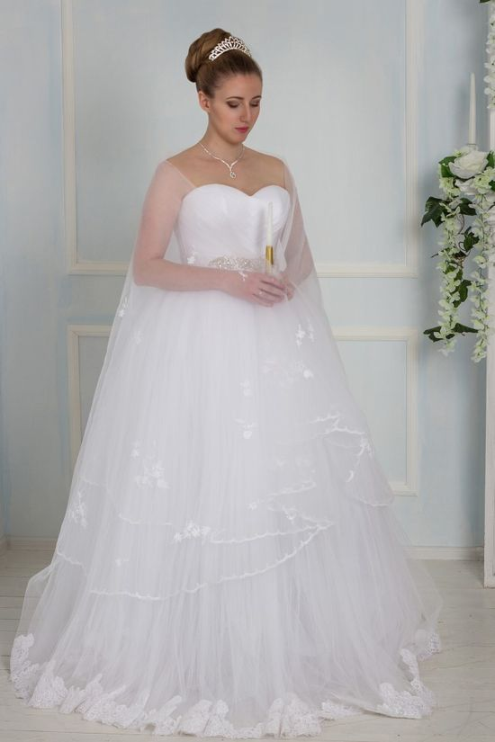 Свадебная накидка салона Edlerweiss