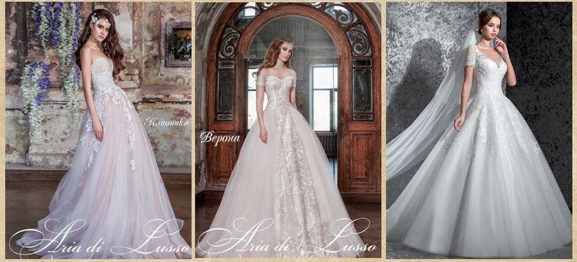 Свадебные платья салона Edlerweiss