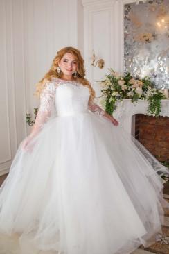 e512aea1755 Свадебное платье ЛЮЧИЯ Plus Size